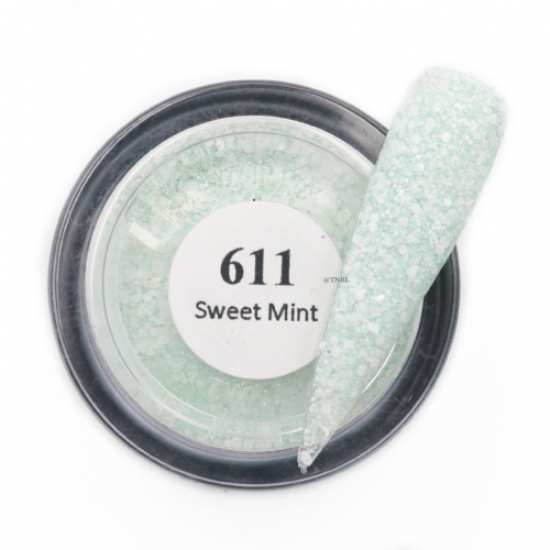GLAM AND GLITS MATTE ACRYLIC - MAT611 SWEET MINT